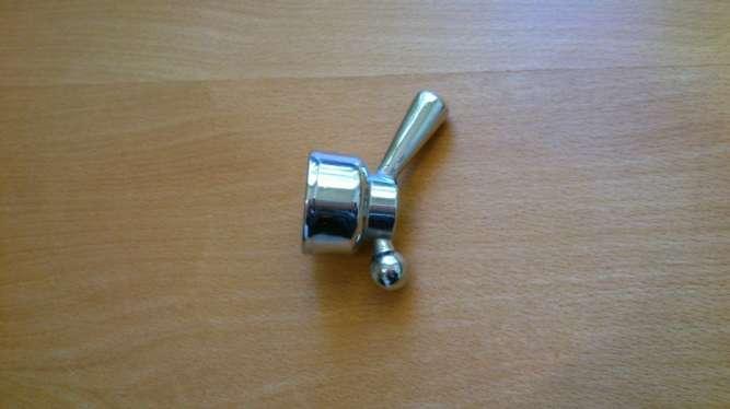 Ручка переключения для смесителя.латунь