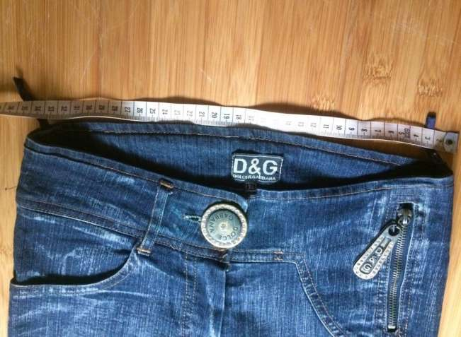 джинсы Dolce & Gabbana  размер 34