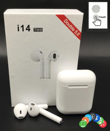 Беспроводные наушники TWS i11 / i14 Apple Airpods Bluetooth 5.0