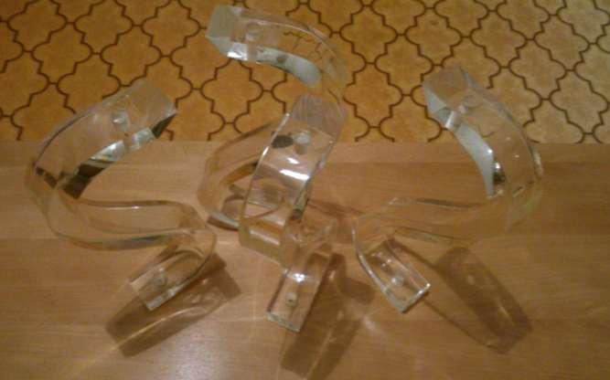 Ножки-перемычки для столика из оргстекла