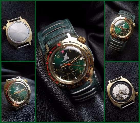 «АРТИЛЛЕРИЙСКИЕ-90-х.-КОМАНДИРСКИЕ» часы мужские, МЕХАНИКА из СССР