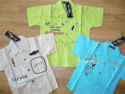 Летняя рубашка на мальчика 3-6 лет. В наличии