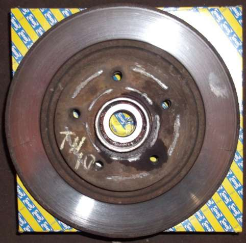 Тормозной диск - ступица задний Citan Kangoo Express 2 Kangoo 2