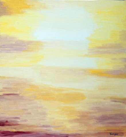 """Картина """"Пустыня"""". Абстракция."""