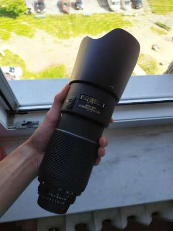 Nikon 80-200 f2.8d MKII + фильтр + бленда (аналог nikkor 70-200)