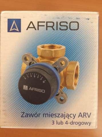 """AFRISO комплект: 3-ход. клапан ARV384 Rp 1"""" и привод ARM323 3-точки"""