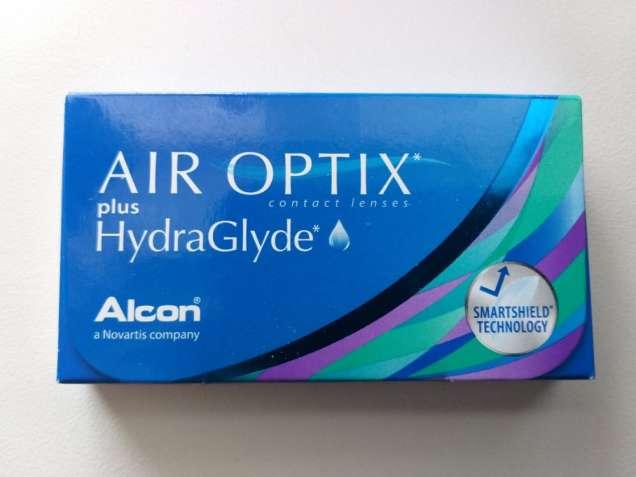 Месячные контактные линзы Air Optix plus HydraGlyde. -1.5