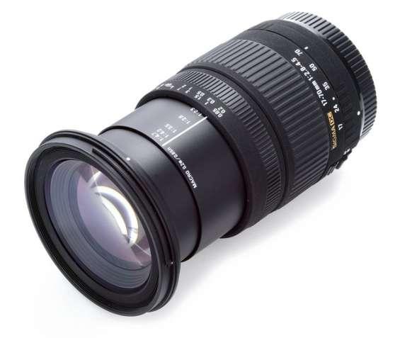 Sigma 17-70 2.8-4.5 makro for canon