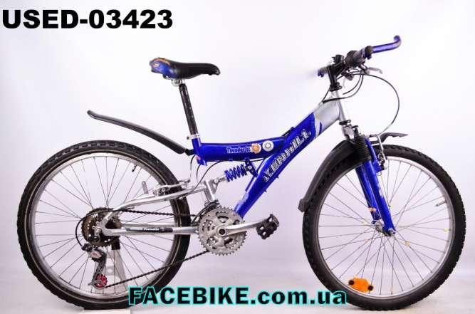 БУ Подростковый велосипед Kenhill-Гарантия,Документы-