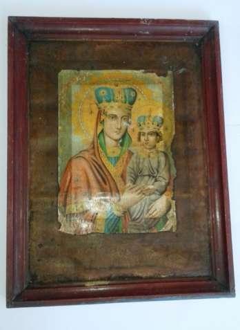 Икона пресвятой Богородицы споручницы Хромо литография