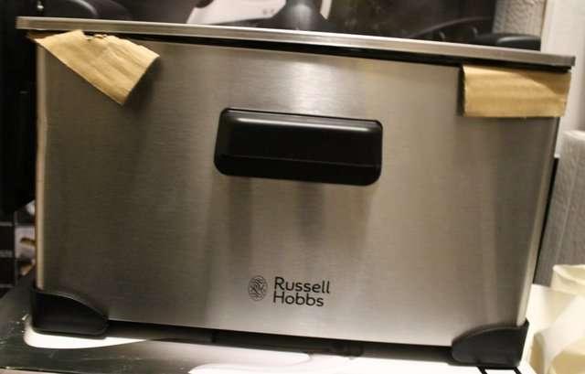 Фритюрница russell hobbs для кафе и для дома из Англии