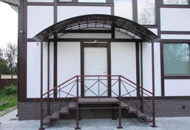 Изготовим вольеры, ворота и двери гаражные, пандуса, навесы и т.д.