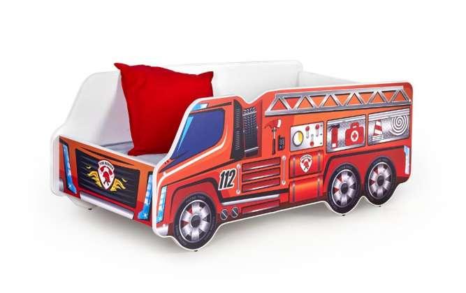 Детская кровать (машина) с матрасом