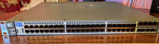 Коммутатор управляемый уровня 3 HP ProCurve 2848