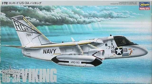 Сборная модель 1\72 самолета Viking US-3A
