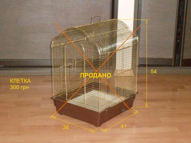 Клетка аксессуары. Клетка для попугая, хомяка, крысы, грызунов и др.
