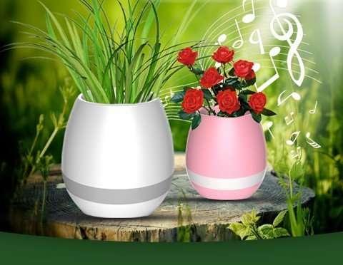 Музыкальный цветочный горшок . вазон
