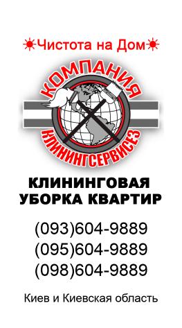 Уборка однокомнатной квартиры, Киев - КлинингСервисез