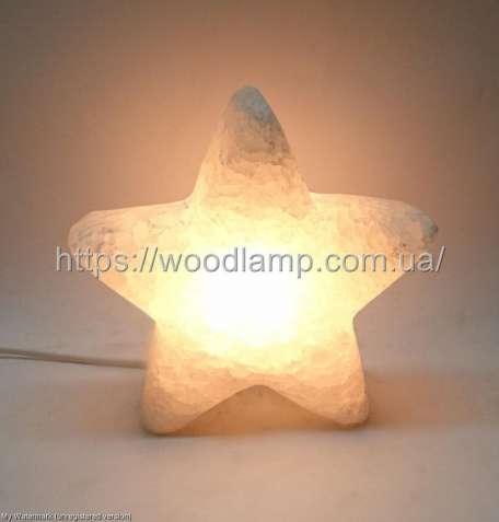 Соляной светильник Звезда, лампа, ночник