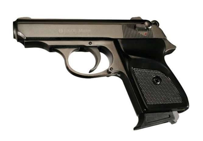 Стартовый пистолет ekol major ( титан)