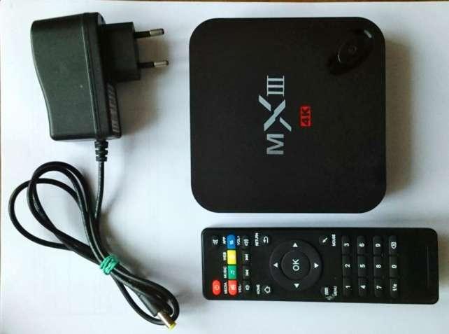 Оригинальный MXIII Android TV 4К/ Full HD медиаплеер с поддержкой 3D