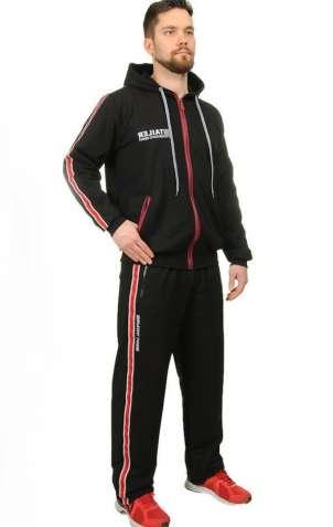 Спортивний костюм чоловічий «Госс» (З 50 по 56 | Чорний, сірий)