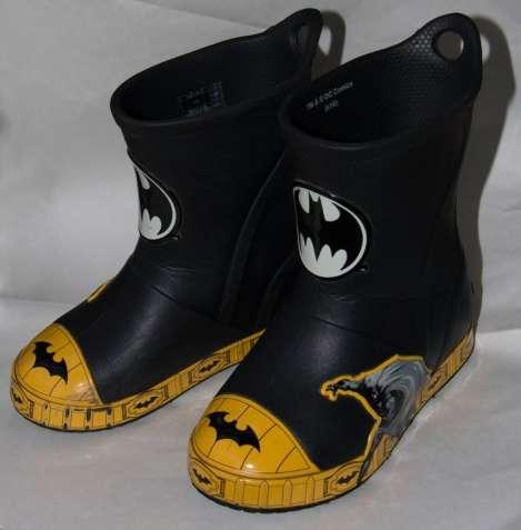 Сапожки резиновые сапоги Crocs (Бетмен)