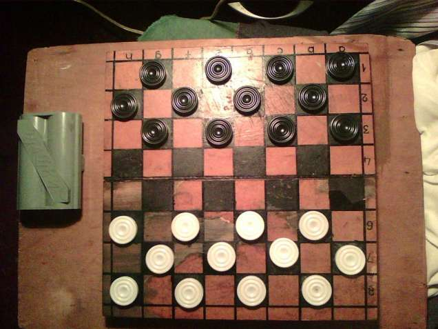 Продам шашки б\у.