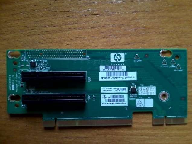 HP Proliant DL180 G6 PCI-E x8 Riser Card (P/N 516803-001, 492125-001)