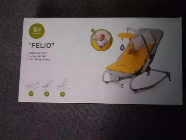 Кресло - качалка Kinderkraft Felio 3in1