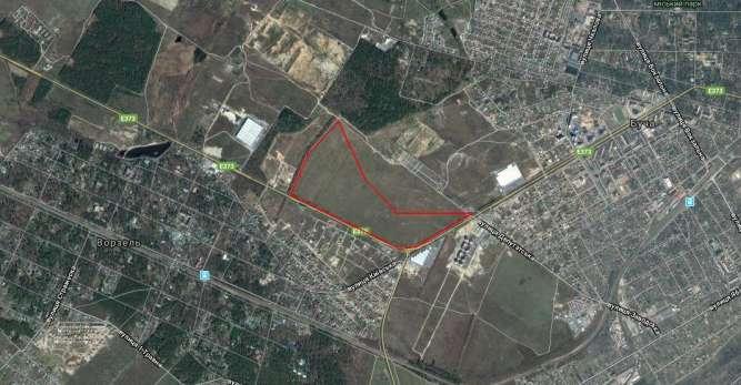 Продам земельный участок 1.9 га (800уе/сотка) трасса Буча-Ворзель