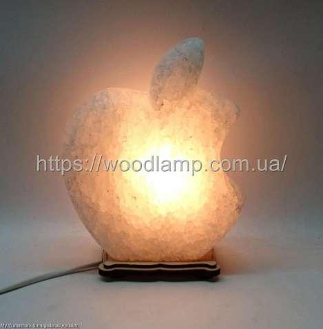 Соляной светильник Apple-Б, лампа, ночник