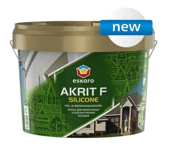 Фасадная Краска Eskaro Akrit F Silicone (2,7 л.)