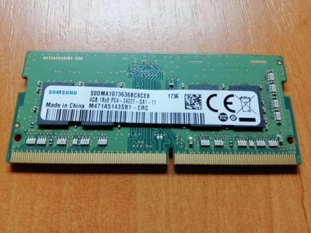 Оперативная память для ноутбука SAMSUNG 4 GB SO-DIMM DDR4 2400 MHz