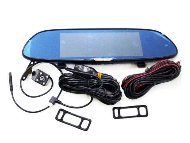 DVR H10 Full HD Зеркало с видео регистратором с камерой заднего вида.