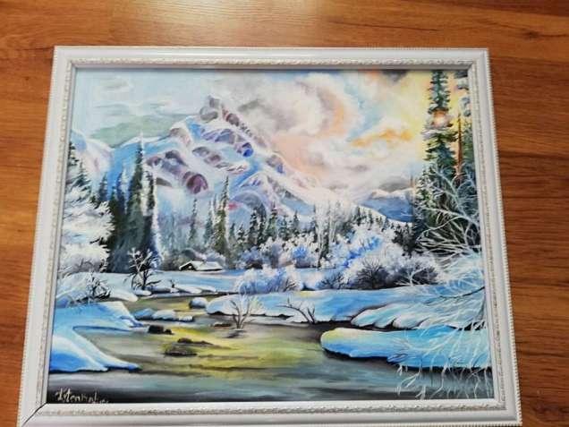 "Картина ""Ukrainian mountains"""