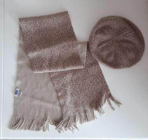 Демисезонная шапка и шарф Chicco