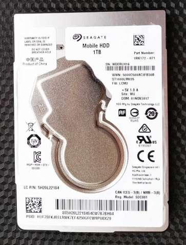 "Жесткий диск 2.5 "" Seagate Mobile HDD 1 Tb с карманом Maiwo USB 3.0"