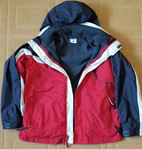 Куртка Columbia детская демисезон 3-в-1 оригинал на мальчика 10-12 лет