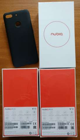 ZTE NUBIA V18 4+64GB ГЛОБАЛ 6.01 FHD+ 4000mAh Snapdragon 625 4G+ CDMA