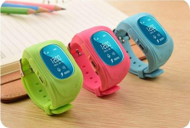 Умные Smart-часы Q50 для детей с GPS и просушкой
