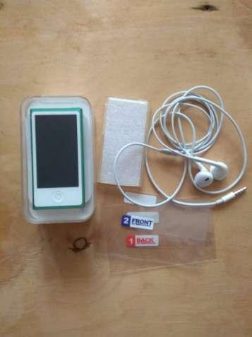 Ipod Nano 7 Gen 16 Gb +2 защитные пленки+силиконовый чехол+спорт чехол