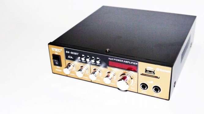 Усилитель UKC SN-003BT - Bluetooth, USB,SD,FM,MP3! 300W+300W Караоке
