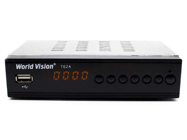 Т2 тюнер World Vision T62А (обычный пульт)
