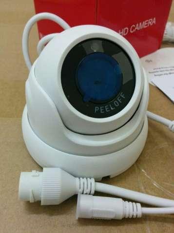 Новая купольная IP видеокамера с разрешением 2 Mp / PoE / 2.8 mm