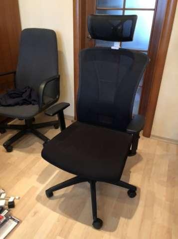 Кресло Barsky BM-04 White/Black
