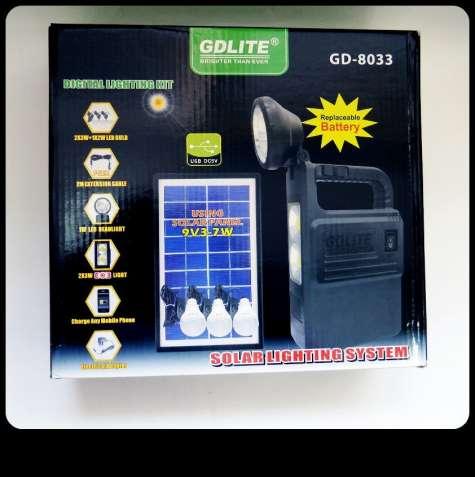 Автономная система освещения GDLite на солнечных батареях. Фонарик.