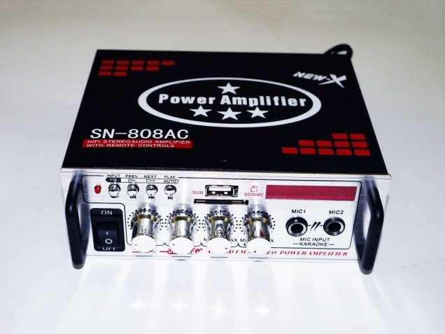 Усилитель UKC Xplod SN-808BT - Bluetooth, USB,SD,FM,MP3! 300W+300W