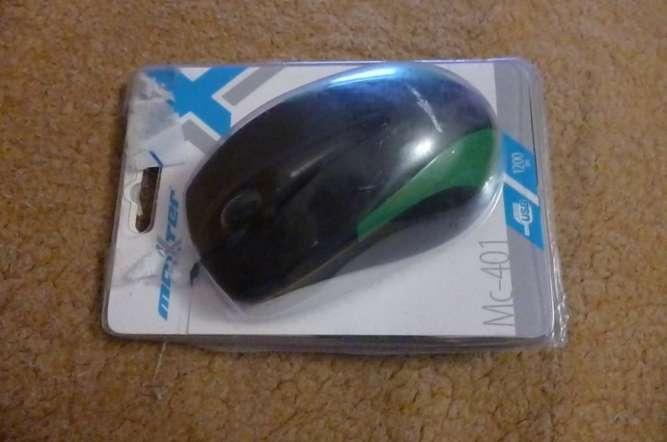 Мышь оптическая Maxxter Mc-401 USB