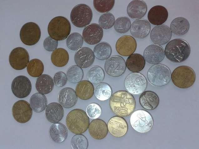 Монеты Словакии кроны 1,2,5,10  1982-98г.